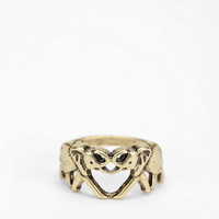 Double Elephant Ring - Urban Outfitters