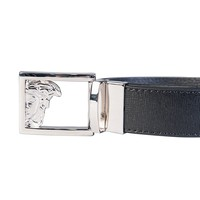 Versace V910207 Reversible Plain Black Belt