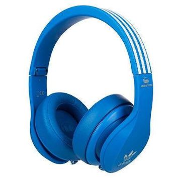 Monster Adidas Over-Ear ACT Noise-Isolating Headphones - Blue