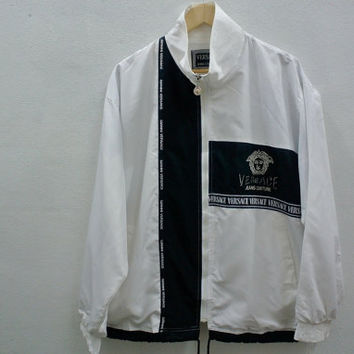 Vintage 90s Gianni Versace Windbreaker Jacket