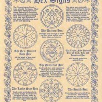 Hex Signs Poster