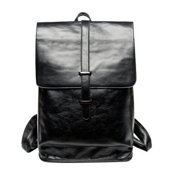 Backpack With Strap and Black Color Design