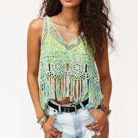 Candy Crochet Tank in  Clothes at Nasty Gal