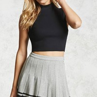 Pleated Varsity Tennis Skirt