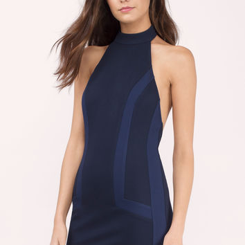 Love Eventually Colorblocked Bodycon Dress