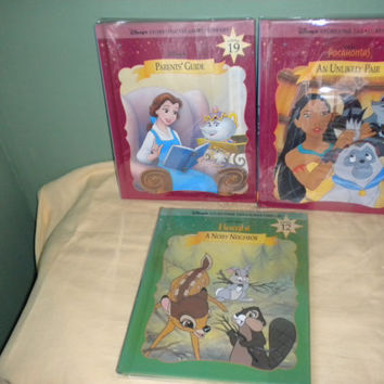 Three Disney Storytime Treasures Pocahontas, Bambi, Parents Guide