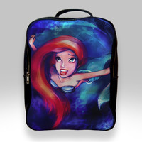 Backpack for Student - Ariel Little Mermaid Sparkling Bags