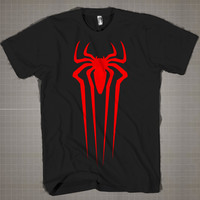 Spiderman Logo  Mens and Women T-Shirt Available Color Black And White