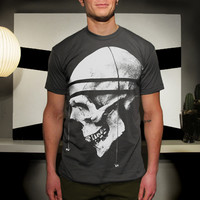 Men's Poly-Cotton Tshirt feat. Messung print