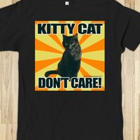 Kitty Cat Don't Care T-Shirt