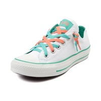 Converse All Star Lo Kriss N Kross Athletic Shoe, White Mint Coral  Journeys Shoes