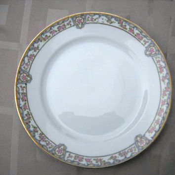 1912 Noritake 'Portland'  Set - Serving Plates - Vintage Dinner Plates - Dinners Set