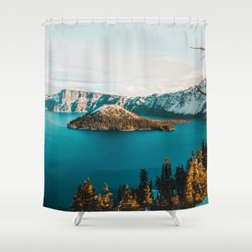 Surrounded By Her Shower Curtain by Gallery One