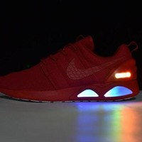 PEAP9IW Nike Roshe Run Air Mag run LED Color Red 417744-604