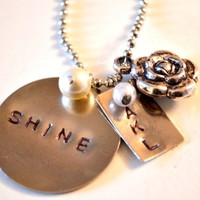Personalized Shine Necklace  from The Shine Project
