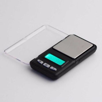new 500g 0 1g mini digital professional scale green backlight balance weight hot selling brand new