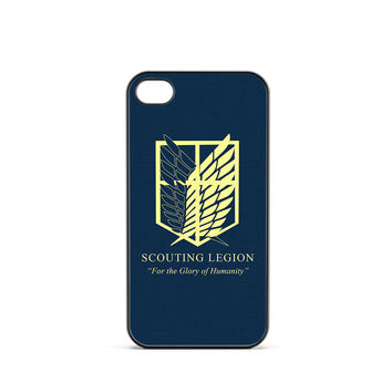 Attack on Titan Scouting Legion Logo iPhone 4 / 4s Case