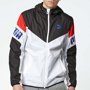 Puma Football White Windbreaker at PacSun.com