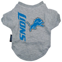 Detroit Lions Dog Tee Shirt - Extra Large