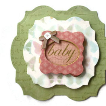 baby, Scrapbook Embellishment, Paper piecing, gift tags, Scrapbooking Layouts, Cards, Mini Albums, brag book, Crafts, journal