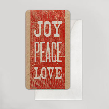 Joy Peace Love Enclosure