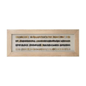 Broughton Beach Shadow Box - Large Bleached Woodtone