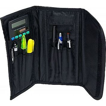 Case It 3-Fold PLP-04 Pencil Pouch, Black