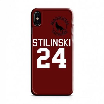 Teen Wolf Stilinski 24 iPhone X Case