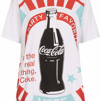 COCA COLA TEE BY TEE AND CAKE