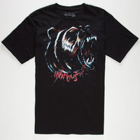 Infamous Bear Trap Mens T-Shirt Black  In Sizes
