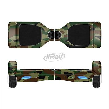 The Traditional Camouflage Full-Body Skin Set for the Smart Drifting SuperCharged iiRov HoverBoard