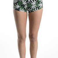 Herblife High Waisted Shorts | Bloody-Fabulous