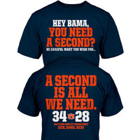 Auburn Tigers NCAA 2013 Iron Bowl Score T-Shirt