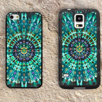 Blue and black mandala iphone 4 4s iphone  5 5s iphone 5c case samsung galaxy s3 s4 case s5 galaxy note2 note3 case cover skin
