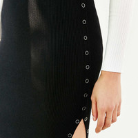 Silence + Noise Side-Snap Sweater Skirt - Urban Outfitters