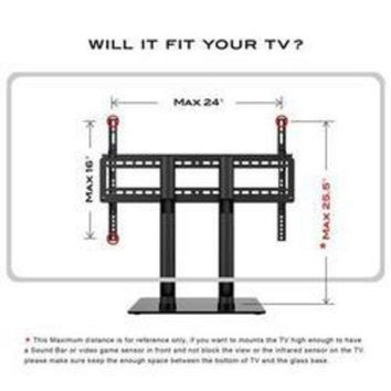 CUPUPO2 Table Top Tv Stand 2 Hght