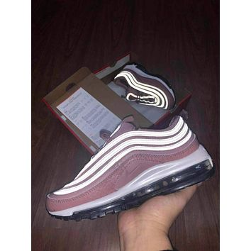 Nike Air max 97 Air cushion reflective sports shoes