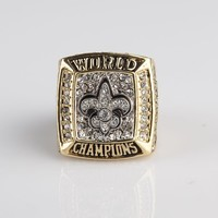 2009 New Orleans Saints Replica Super Bowl Championship Ring  free shipping factory  price champion rings