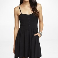 BLACK CAMI SUNDRESS