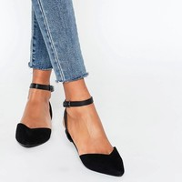 New Look Ankle Strap Flat Shoe