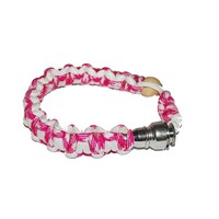 Bracelet Armband Hidden Stealth Pipe - Pink White