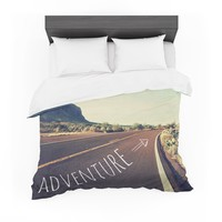"Sylvia Cook ""Adventure"" Desert Road Featherweight Duvet Cover"