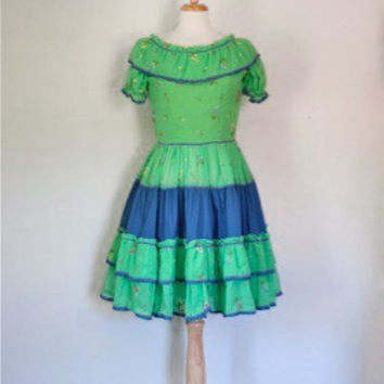 Vintage Patio Dress From The 50s