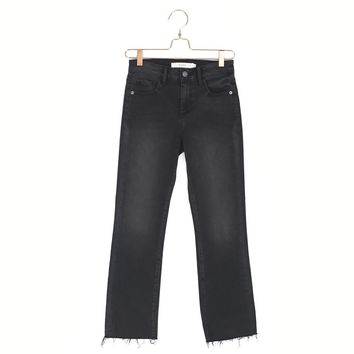 Molly Cropped Flare Jean