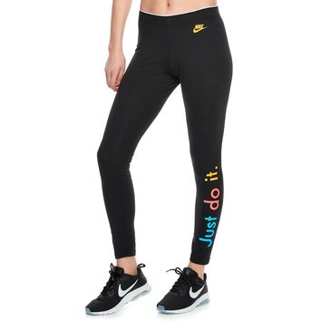 Women's Nike Sportswear Midrise Just Do It Graphic Leggings