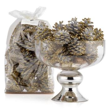 Golden Winter Pinecones | Fragrance Candles | Decor | Z Gallerie