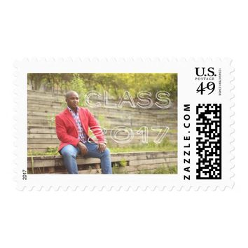 Class of 2017 Photo Postage Stamp