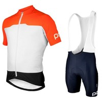 POC Cycling Jerseys Roupa Ciclismo/Quick-Dry Lycra GEL Pad Race MTB Bike Bib Pants and fashion clouthes/  style