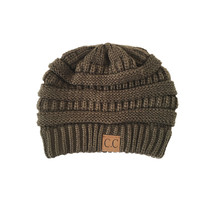 Comfort Me Knit Beanie in Olive