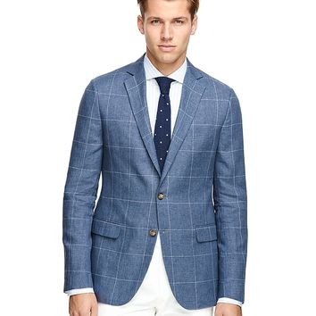 Men's Fitzgerald Fit Windowpane Sport Coat